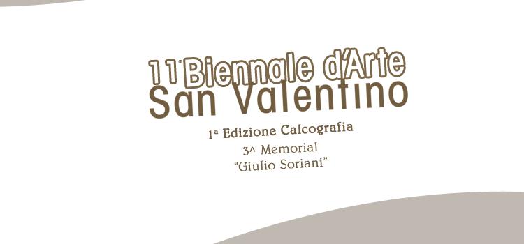 Catalogo 11^ Biennale d'Arte San Valentino 2016