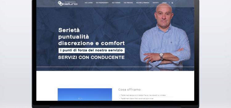 Restyling sito Autonoleggiobelluno