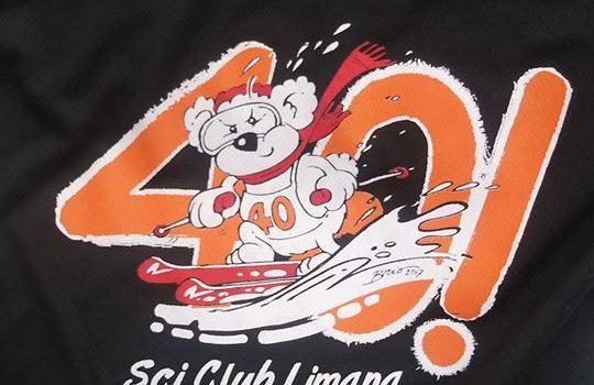 T-shirt 40 anni Sci Club Limana